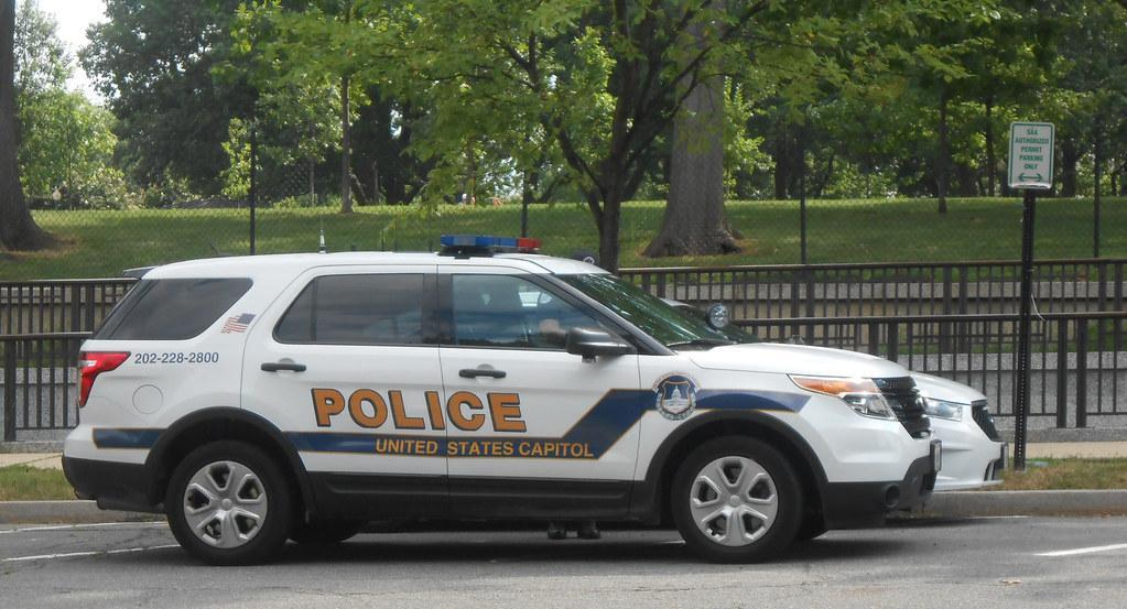 Image: US Capitol Police Vehicle